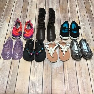 Other - Toddler Girls Shoe Bundle Size 8